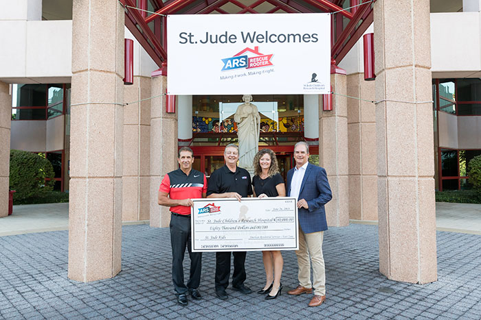 ARS Donation to St Jude